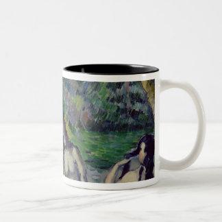 The Three Bathers, c.1879-82 Two-Tone Coffee Mug
