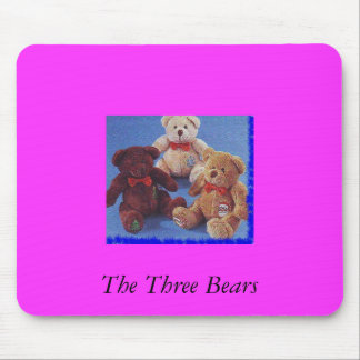The Three Bears Mouse Mat