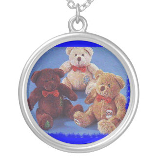 The Three Bears Personalized Necklace