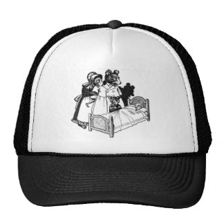 The Three Bears Trucker Hat