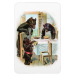 The Three Bears Vinyl Magnet
