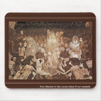 The Three Brides By Toorop Jan (Best Quality) Mousepads