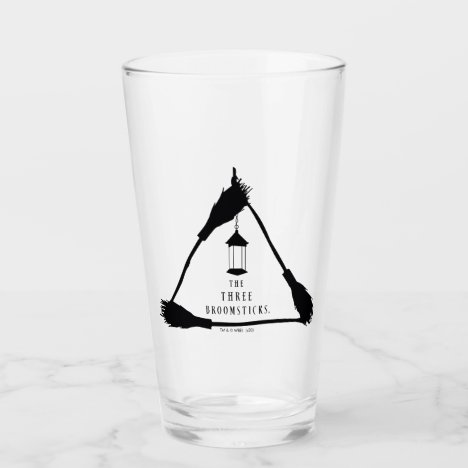 THE THREE BROOMSTICKS™ Logo Glass