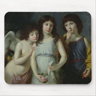 The Three Children of Monsieur Langlois Mouse Pad