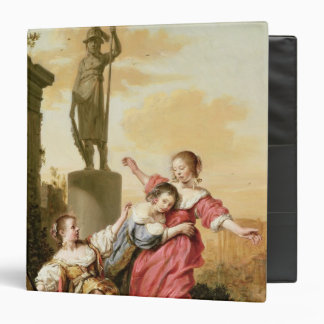 The Three Daughters of Cecrops 3 Ring Binder
