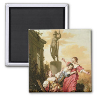 The Three Daughters of Cecrops Magnets