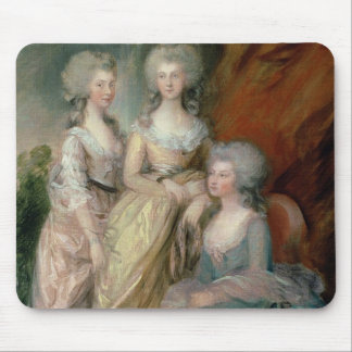 The three eldest daughters of George III: Princess Mouse Pad