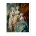 The three eldest daughters of George III: Princess Postcard