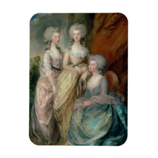 The three eldest daughters of George III: Princess Flexible Magnets