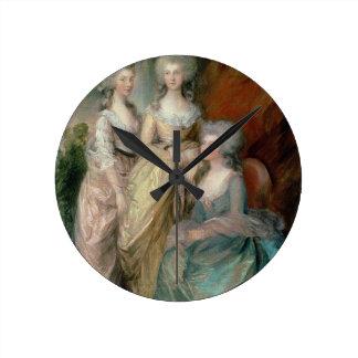The three eldest daughters of George III: Princess Round Clock