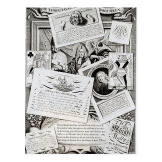 The Three False Brethren Postcard