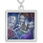 The Three Fates NECKLACE gothic fairy goddess
