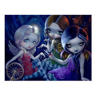 """The Three Fates"" Postcard"