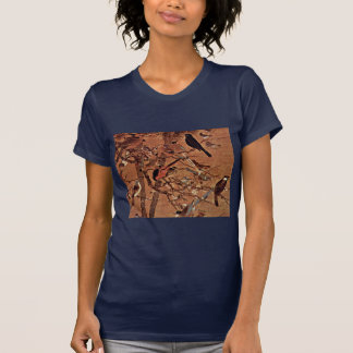 The Three Friends And A Hundred Birds By Pien Shirts