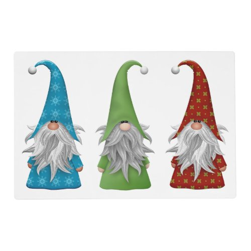 The Three Gnomes Placemat