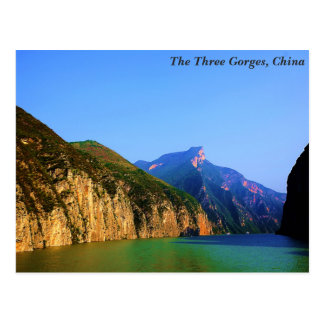 The Three Gorges, China Postcard