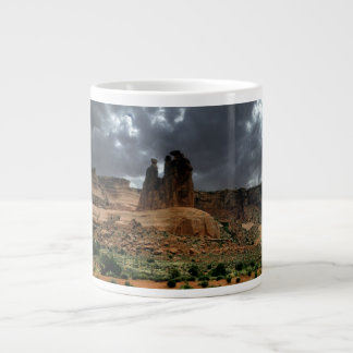 The Three Gossips Arches National Park Large Coffee Mug