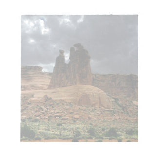 The Three Gossips Arches National Park Notepad