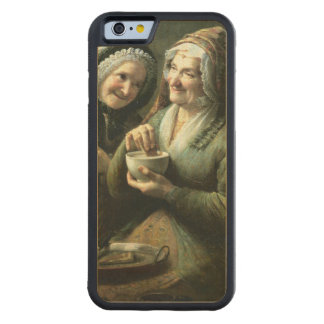 The Three Gossips Carved® Maple iPhone 6 Bumper
