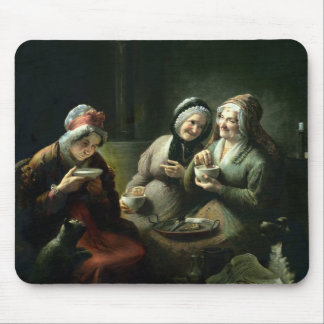 The Three Gossips Mouse Pad