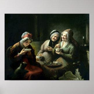 The Three Gossips Poster