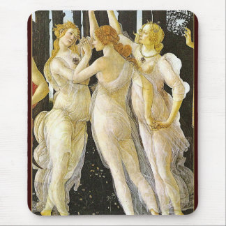 The Three Graces by Sandro Botticelli Mouse Pad