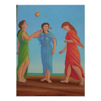 The Three Graces, Relaxing Poster