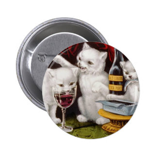 The Three Jolly Kittens Button