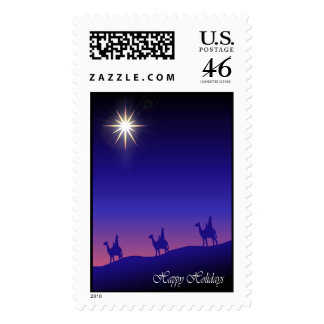 The three kings and a star:English Stamps