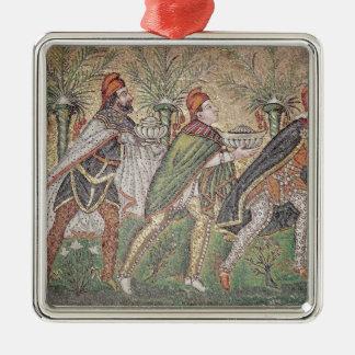 The Three Kings Metal Ornament