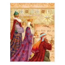 The Three kings Postcard