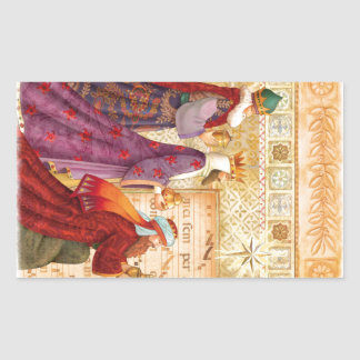 The Three kings Rectangular Sticker