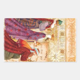 The Three kings Rectangular Sticker