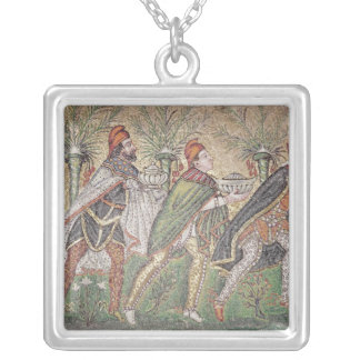 The Three Kings Silver Plated Necklace