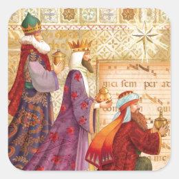 The Three kings sticker
