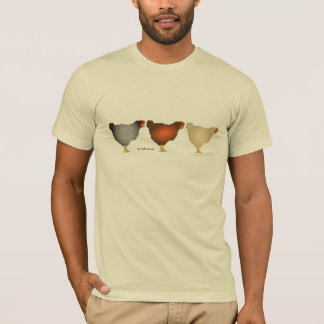 The three layers (hens)  arty drawing Shirt