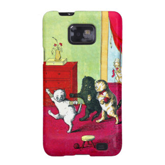 The Three Little Kittens Samsung Galaxy S2 Cover