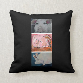 The Three Little Piggies Pillow collection