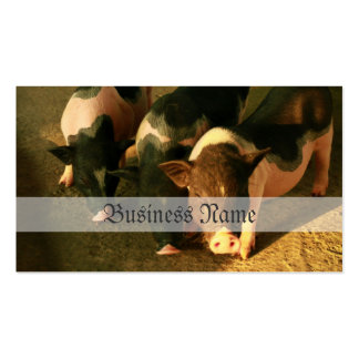The Three Little Pigs Double-Sided Standard Business Cards (Pack Of 100)