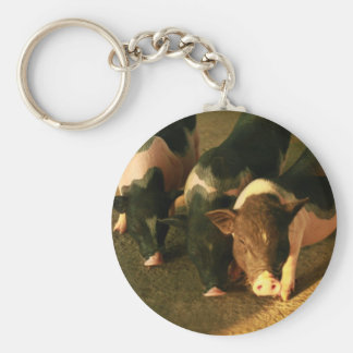 The Three Little Pigs Key Chains