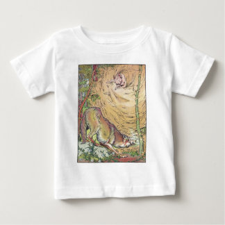 The Three Little Pigs Straw House Fairy Tale 1904 Baby T-Shirt