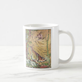 The Three Little Pigs Straw House Fairy Tale 1904 Coffee Mug