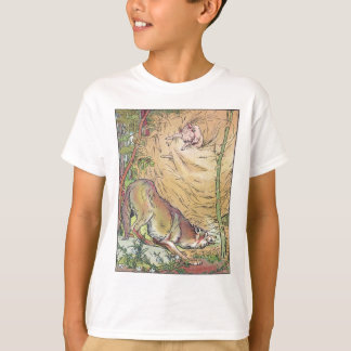 The Three Little Pigs Straw House Fairy Tale 1904 T-Shirt