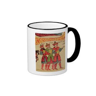 The Three Magi, detail from the Nativity Ringer Coffee Mug