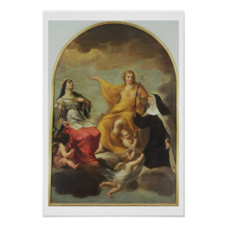 The Three Marys, 1633 (oil on canvas) Poster