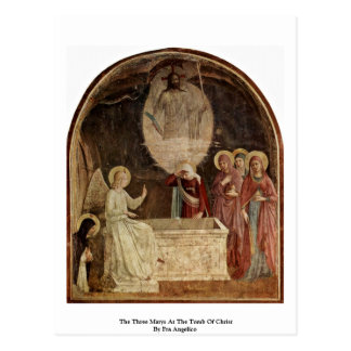 The Three Marys At The Tomb Of Christ Postcard