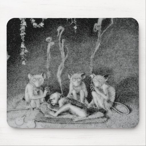 The Three Mulla-Mulgars Mouse Pad