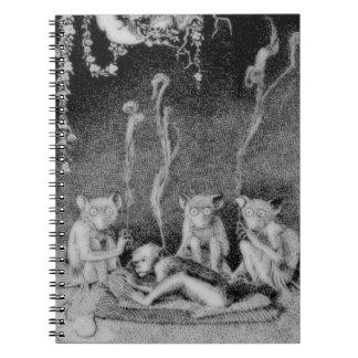 The Three Mulla-Mulgars Spiral Notebook