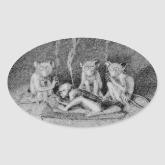 The Three Mulla-Mulgars Stickers