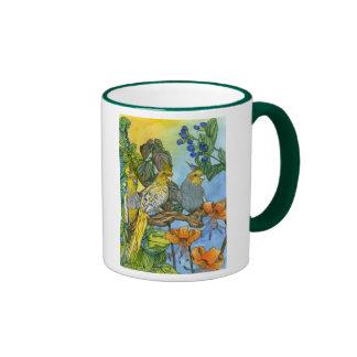 The Three Muskatiels Ringer Mug